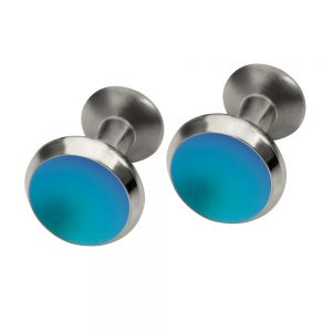 Titanium coloured cufflinks